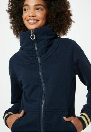 SCHLAWINERIN - Sweater met rits - dunkelblau