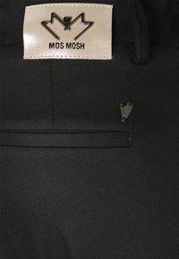 Mos Mosh - BLAKE GALLERY PANT - Kalhoty - black - 5
