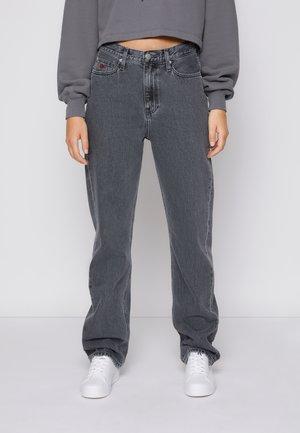 HIGH RISE STRAIGHT - Straight leg jeans - denim grey