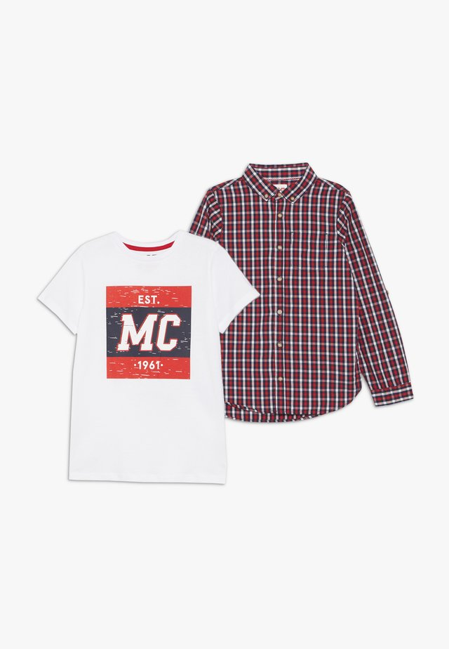CHECK TEE SET - Shirt - multi