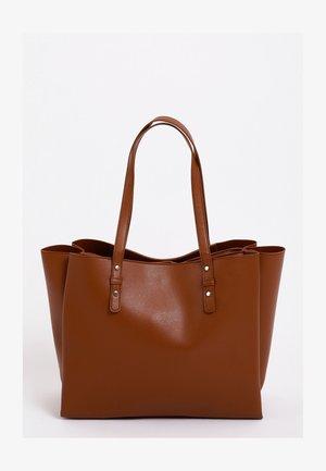 Shopping bag - kastanienbraun