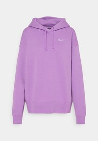 Nike Sportswear - HOODIE TREND - Sweater - violet shock/white - 5