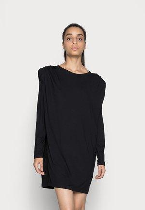 SANDRA DRESS - Jerseyjurk - black