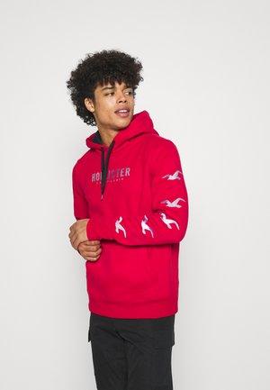 PERSPECTIVE OMBRE - Sweatshirt - red