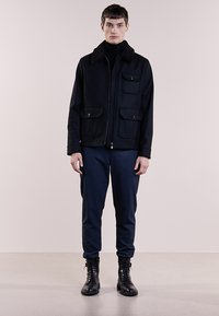 Bruuns Bazaar - CHARLES ROLL NECK - Trui - black - 1