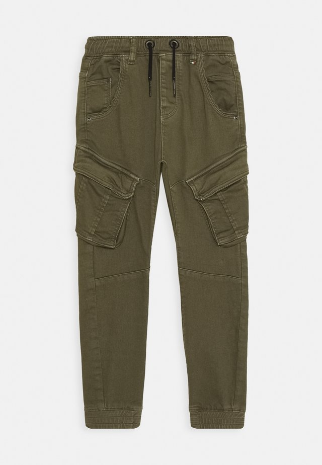 CALANDO - Cargo trousers - army green
