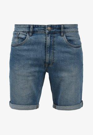 Denim shorts - denim lightblue