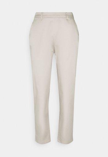 BASIC - Chino - Trousers - stone