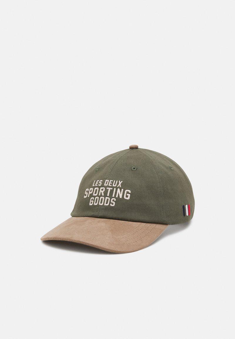 Les Deux - SPORTING GOODS DAD - Cappellino - lichen green/dark sand