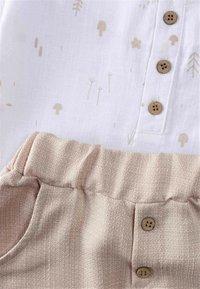 Cigit - SET - Trousers - beige/white - 2