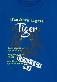 Blue Seven - SMALL BOYS TIGER GORILLA 2 PACK - Print T-shirt - blue/white - 3