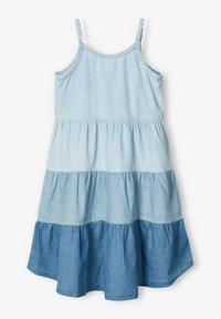 Name it - MEHRFARBIGES - Sukienka jeansowa - light blue denim - 2