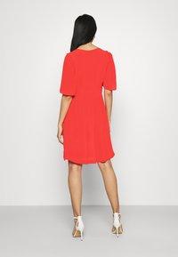 Scotch & Soda - PRINTED DRESS WITH FITTED WAIST - Day dress - raspberry - 2