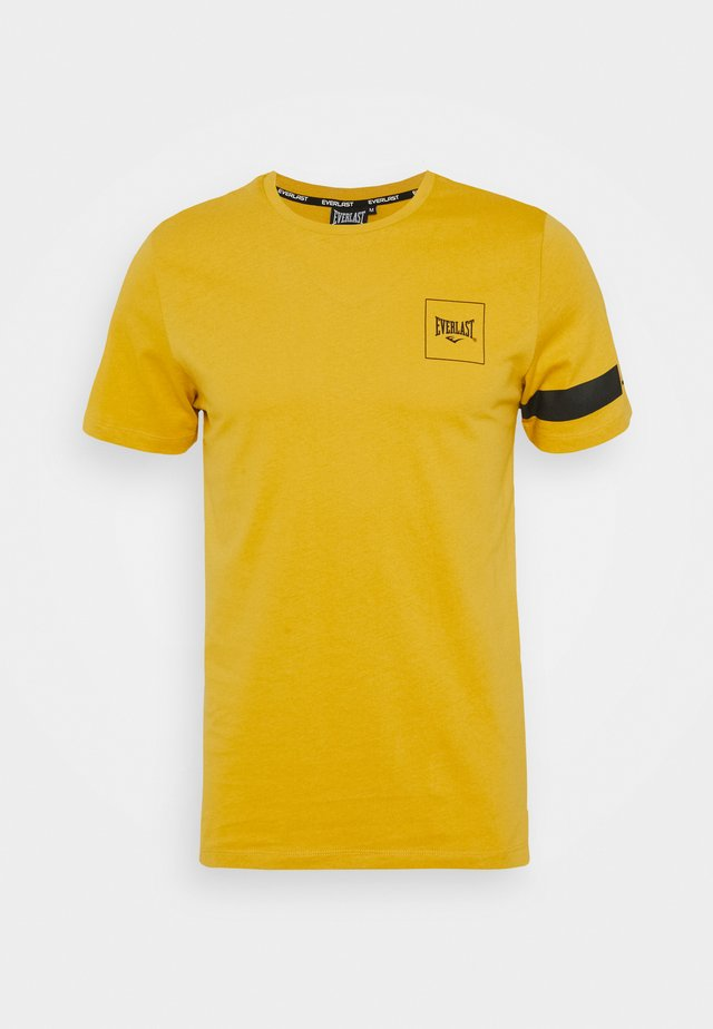 TEE KING - T-shirt print - yellow