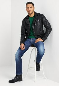 Be Edgy - BESPACE - Leather jacket - black - 1