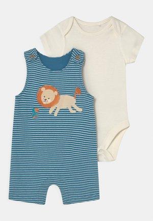 LION BABY SET - Basic T-shirt - blue