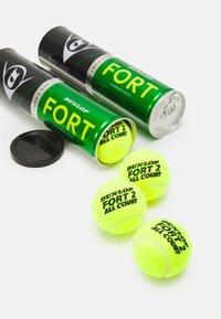 Dunlop - FORT ALL COURT 8 PACK UNISEX - Bollar - gelb - 1