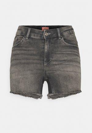 ONLBLUSH  LIFE MID - Jeansshort - medium grey denim