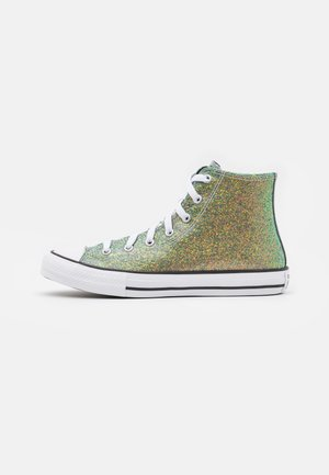 CHUCK TAYLOR ALL STAR WINTER GLITTER  - High-top trainers - gold/black/white