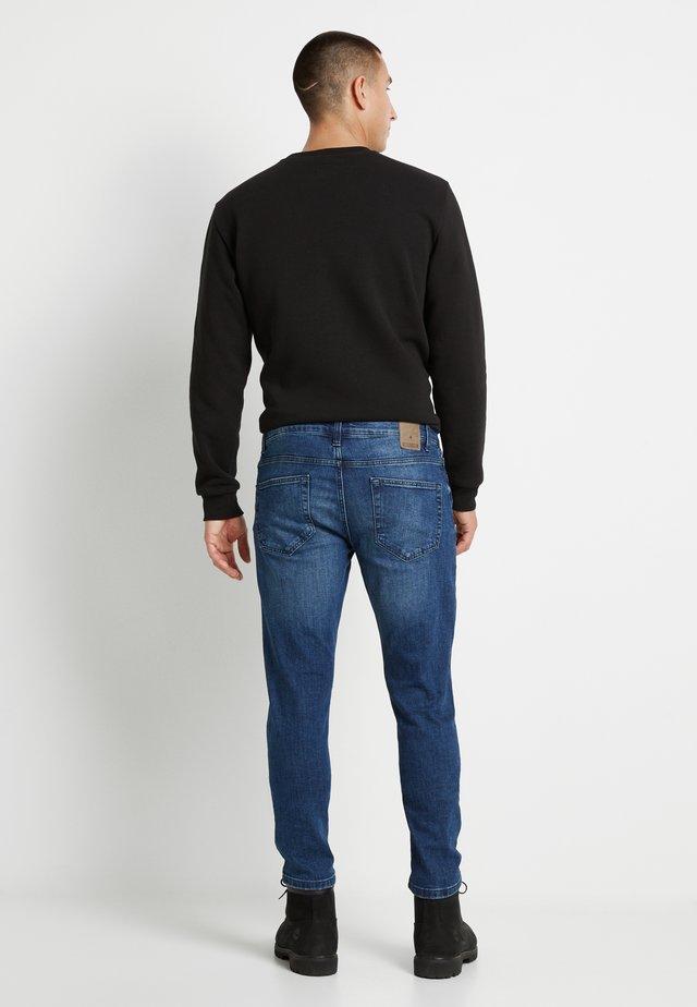 ONSLOOM DAMAGE - Slim fit jeans - blue denim