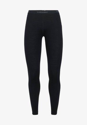 Dlouhé spodní prádlo - black