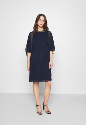 Cocktail dress / Party dress - navy/silver