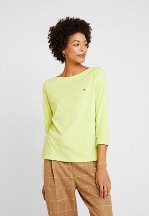 Långärmad tröja - hyper yellow