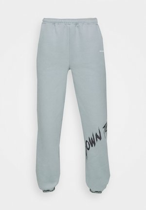 YOUTH COLLAGE PANTS - Tracksuit bottoms - stone green
