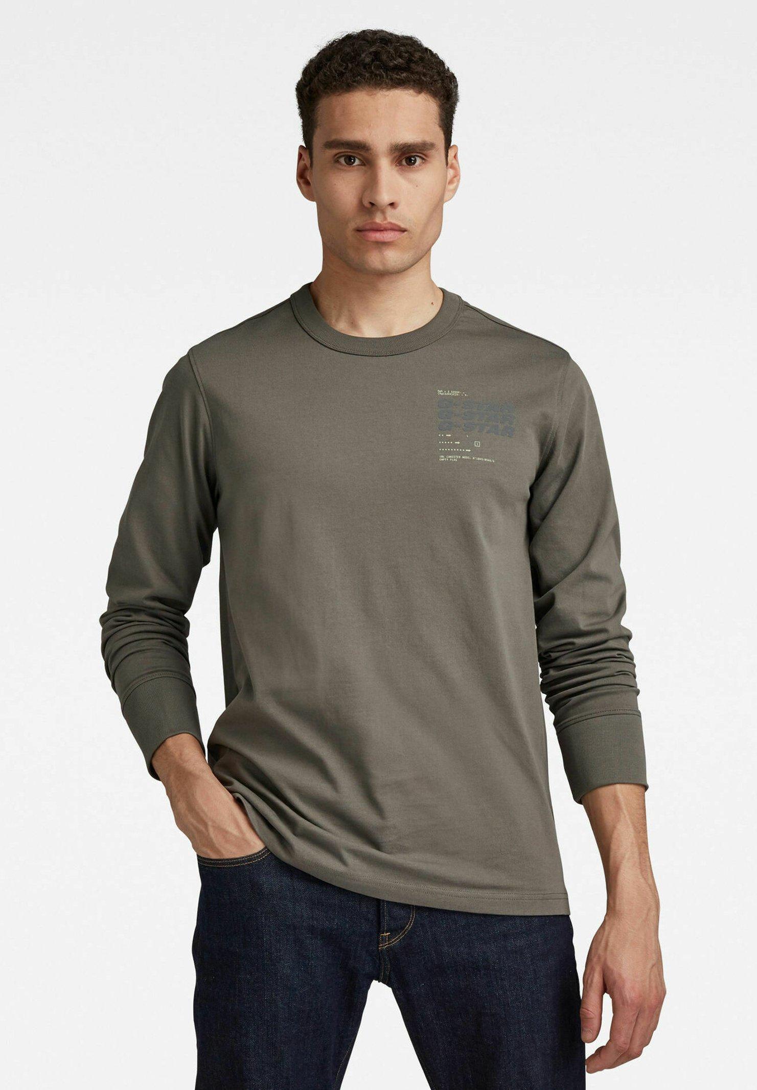 Herren BIG BACK GRAPHIC - Langarmshirt