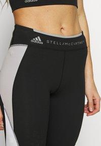 adidas by Stella McCartney - RUN  - Tights - black/grey/white - 3
