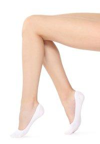 LOW-CUT-FÜSSLINGE - Trainer socks - bianco