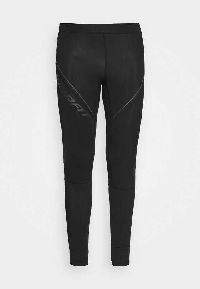 WINTER RUNNING TIGHTS - Leggings - black out