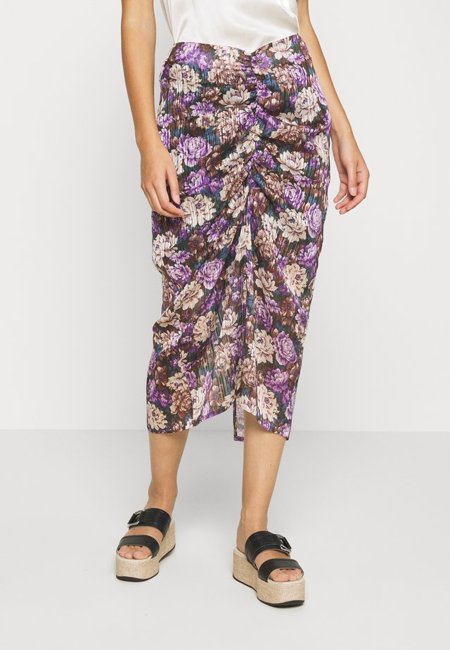 ALEXIS SKIRT - Gonna a tubino - purple