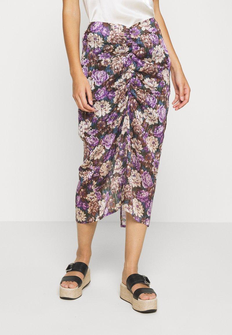 Birgitte Herskind - ALEXIS SKIRT - Pencil skirt - purple