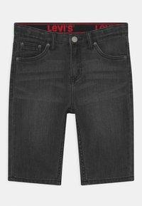 Levi's® - PERFORMANCE  - Denim shorts - black denim - 0