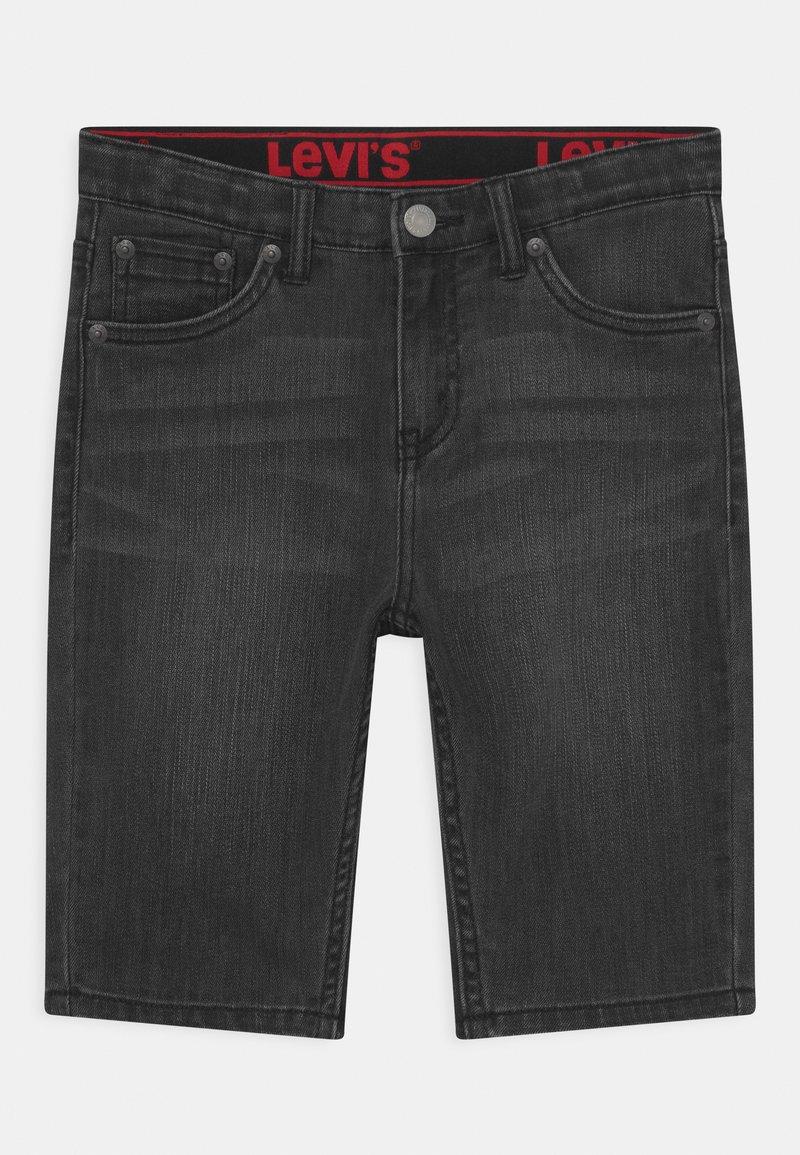 Levi's® - PERFORMANCE  - Denim shorts - black denim