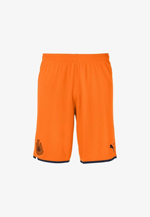 NEWCASTLE UNITED FC - Sports shorts - vibrant orange-peacoat