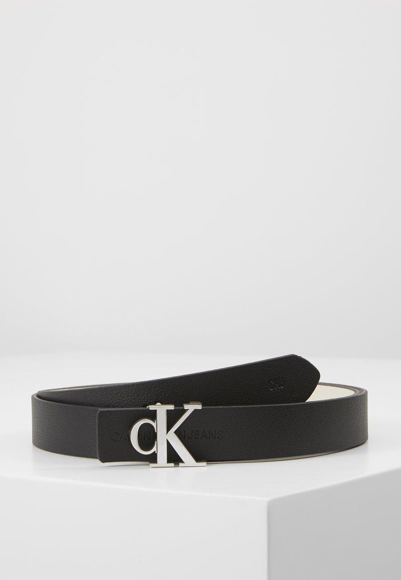 Calvin Klein Jeans - CKJ GYM CLASS REV MONO - Belt - black