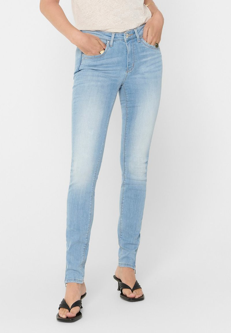 ONLY Tall - ONLKENDELL LIFE - Skinny džíny - light blue denim