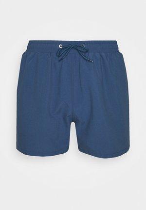 PEACHY SOFT BEACH SHORTS - Swimming shorts - blue