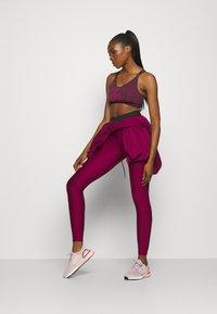 adidas Performance - BRA - Urheiluliivit: keskitason tuki - purple - 1