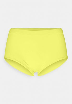 SUNSET DREAMS BOXER - Spodní díl bikin - acid yellow