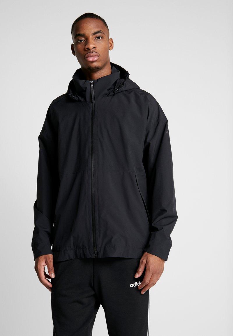 adidas Performance - URBAN RAIN.RDY - Regnjacka - black