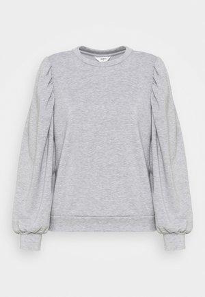 OBJMAJA - Sweatshirt - light grey melange
