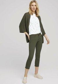 TOM TAILOR - ALEXA - Jeans Skinny Fit - grape leaf green - 1