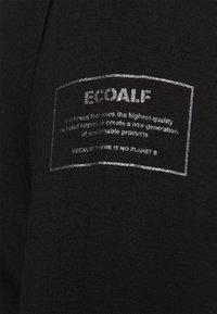 Ecoalf - VELETA WOMAN - Top sdlouhým rukávem - black - 2