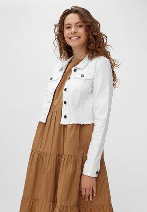 Denim jacket - bright white