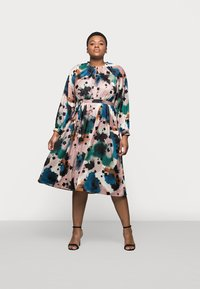 Marks & Spencer London - PRINTED MIDI DRES - Korte jurk - multi-coloured - 1