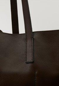 Massimo Dutti - Torba na zakupy - brown - 6