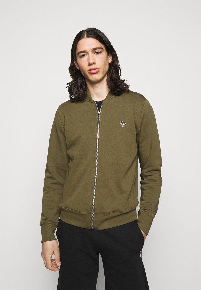 PS Paul Smith - MENS ZIP BOMBER - Zip-up sweatshirt - khaki